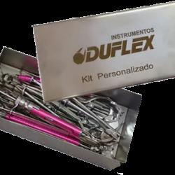 Kit de Instrumentos Personalizados (Garantia 20 anos)